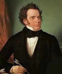 Painting of Franz Schubert