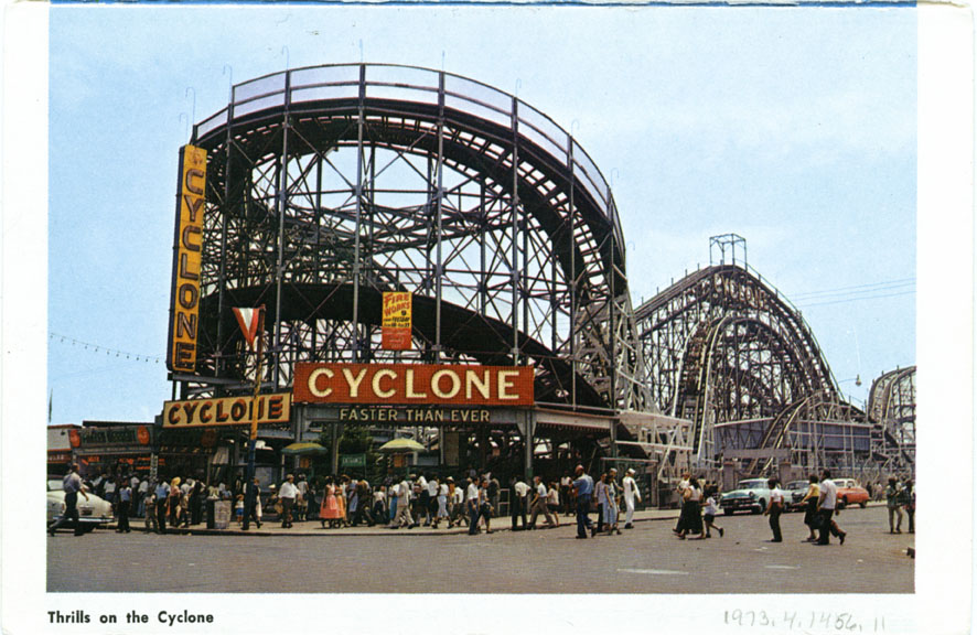 The Cyclone - Coney Island: Brooklyn, New York