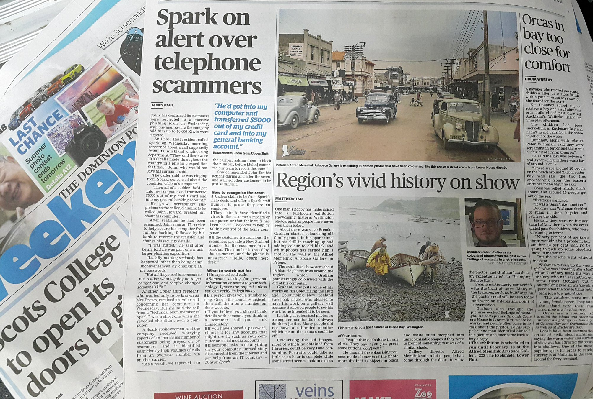 The Dominion Post -27th January 2018