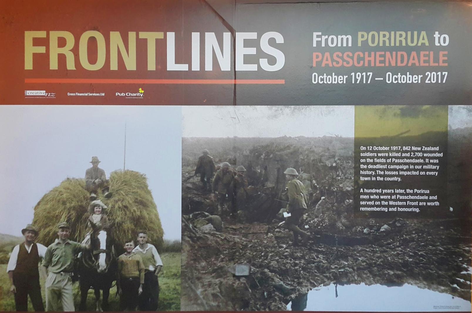 'Porirua War Stories'at Pātaka - 28 September 2017