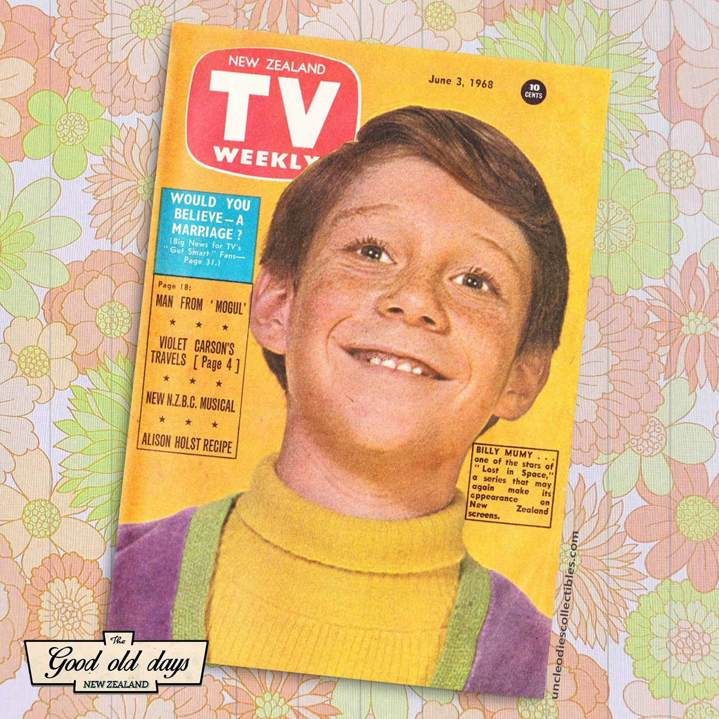 TV guide June 3, 1968