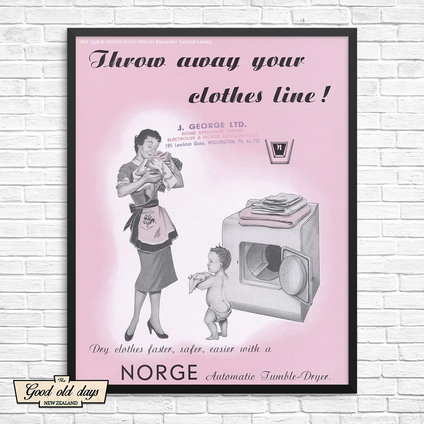 Throw away your clothes line!