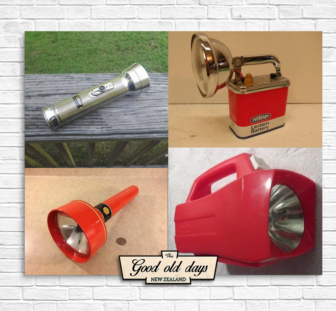 Eveready torches