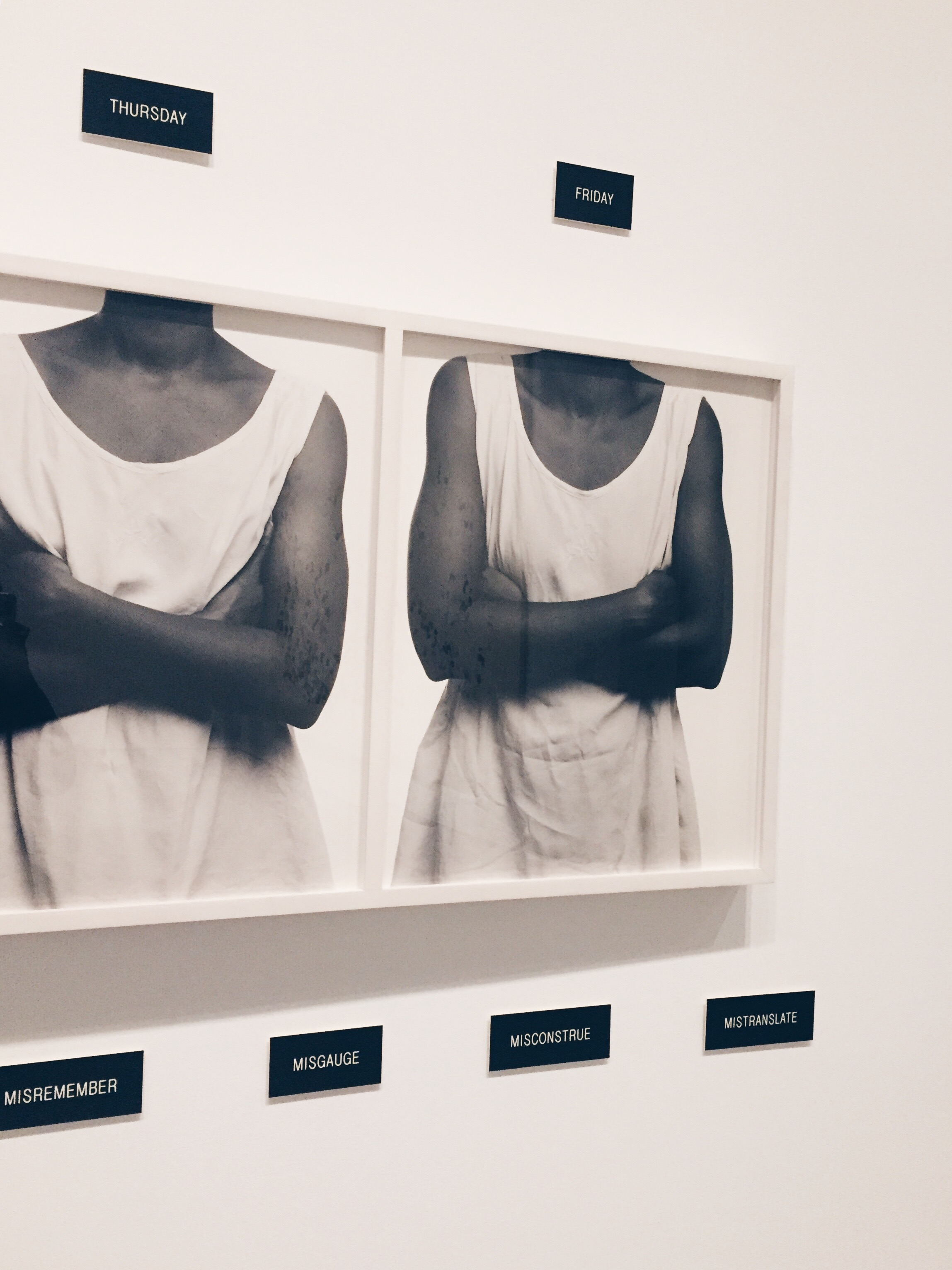 Lorna Simpson,  Five Day Forecast