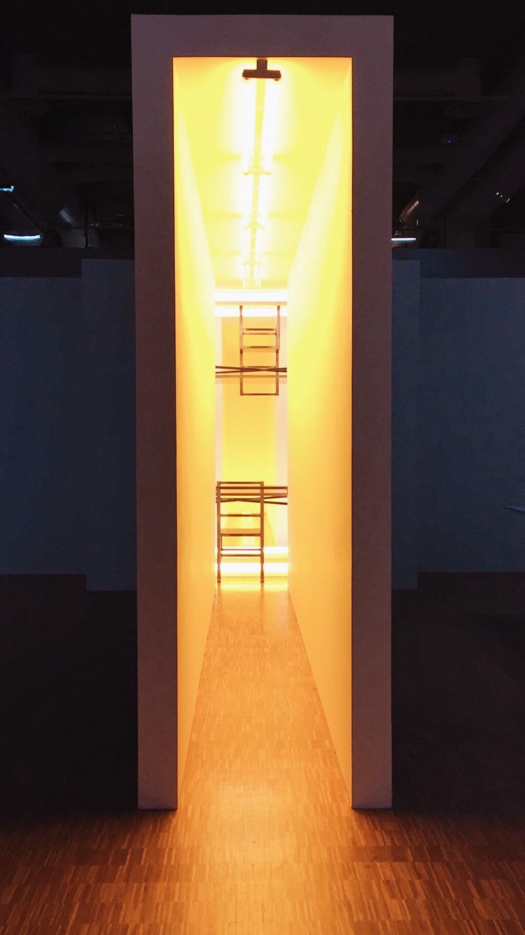 Bruce Nauman,  Dream Passage with Four Corridors