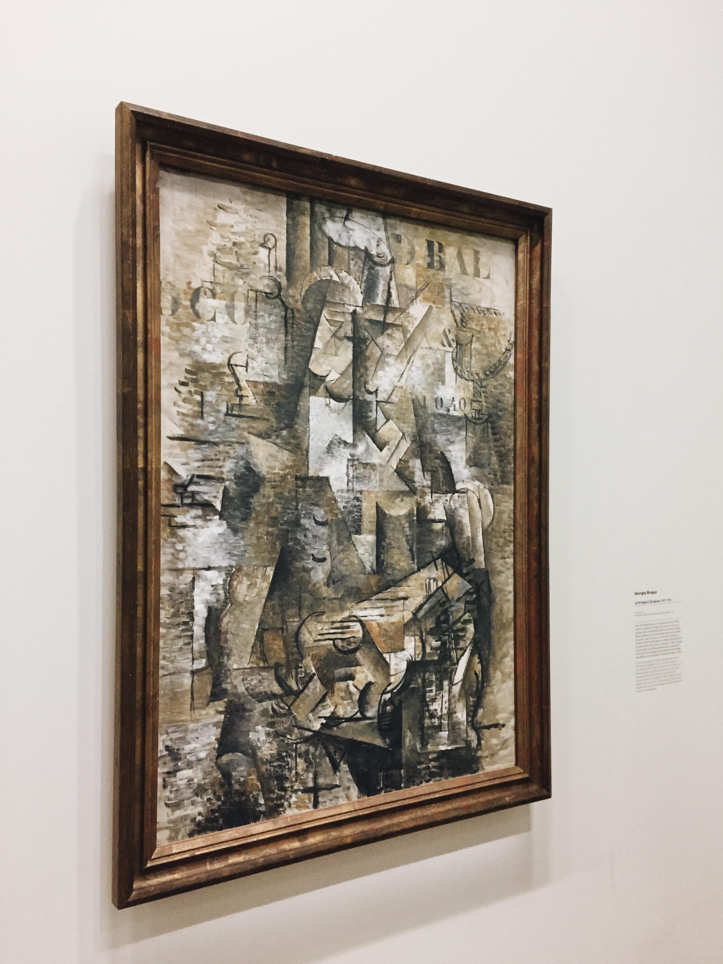 Georges Braque,  Le Portugais (L'Émigrant)