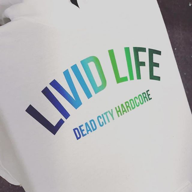 Rainbow print for our friends at @lividlifehc #duceTWO #NateCreation