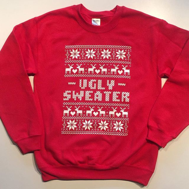 That time of the year! #UglySweater #Christmas #duceTWO #uglychristmassweater