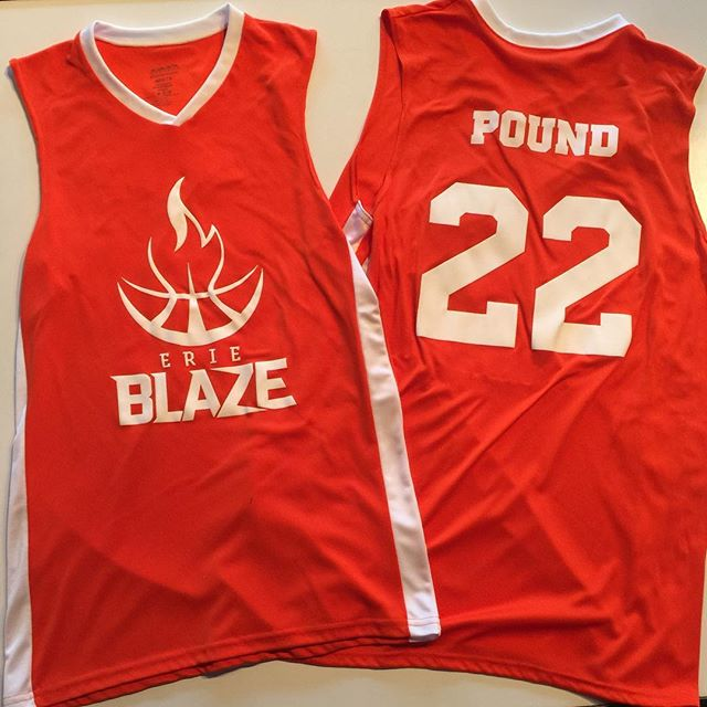 Basketball Jerseys for Erie Blaze #duceTWO