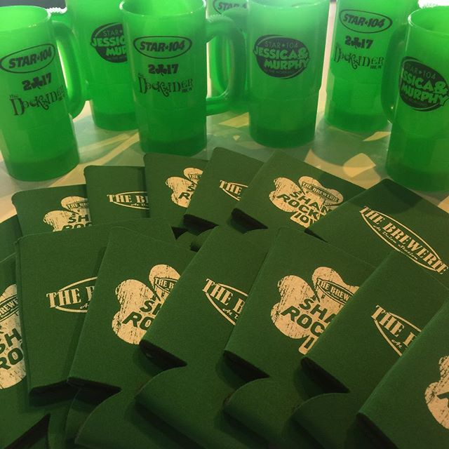 Some drinking accessories for St Patrick's day 2017. #MoreThanJustShirts #duceTWO
