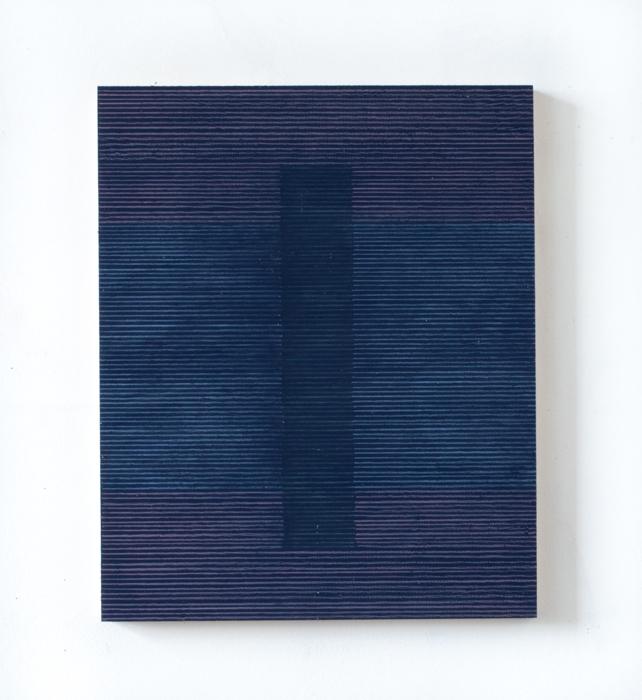 blue bridge painting  12 x 15