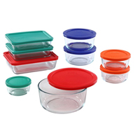 glass pyrex containers