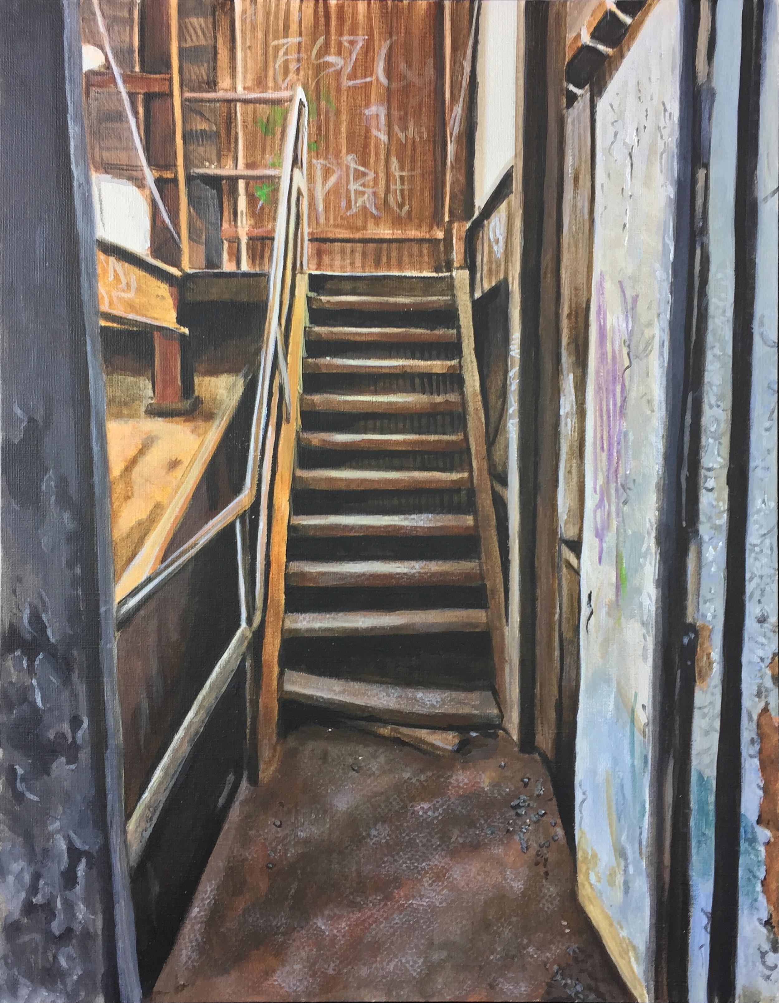 Rust - acrylic on canvas 11