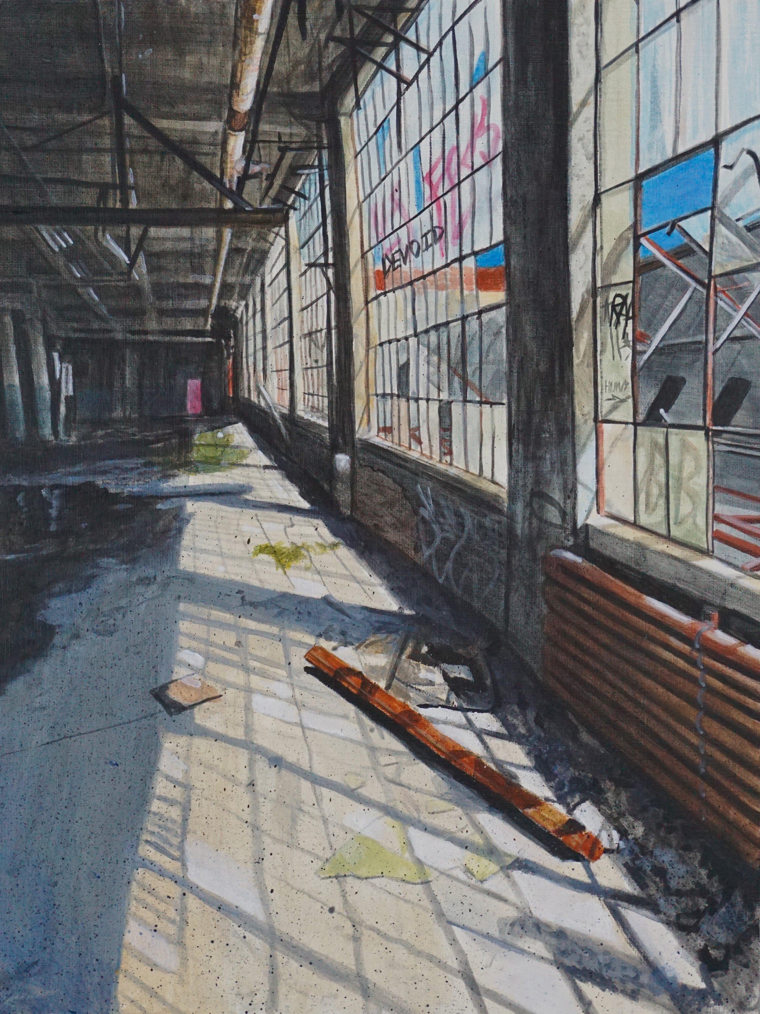 Devoid - acrylic on canvas 11
