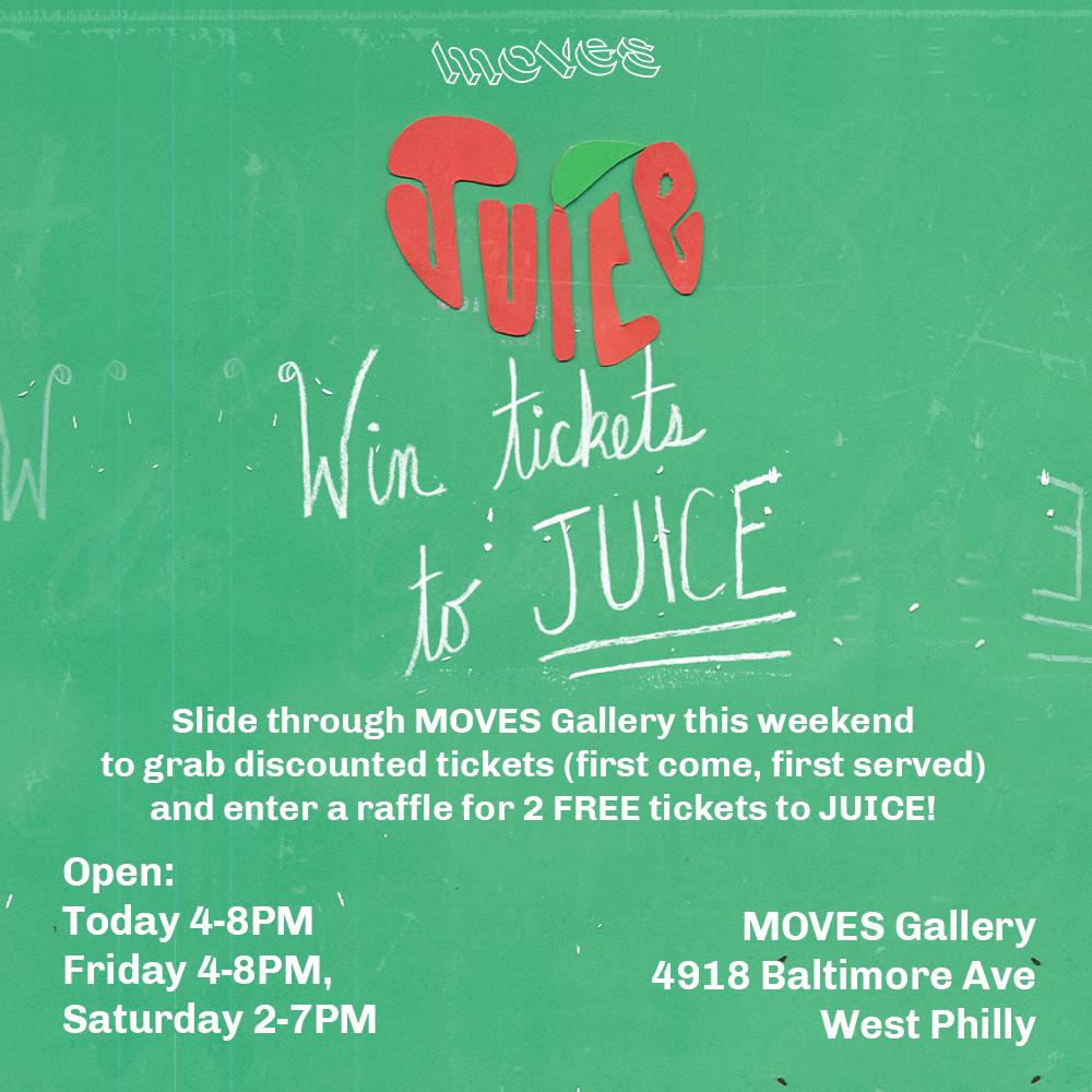 JUICE Tickets