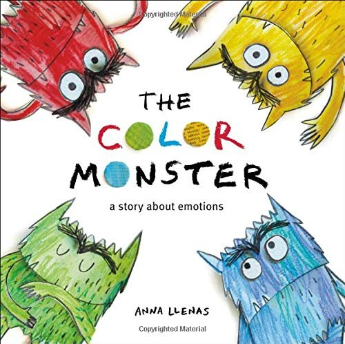 The Color Monster By Anna Llenas Ensemble Therapy