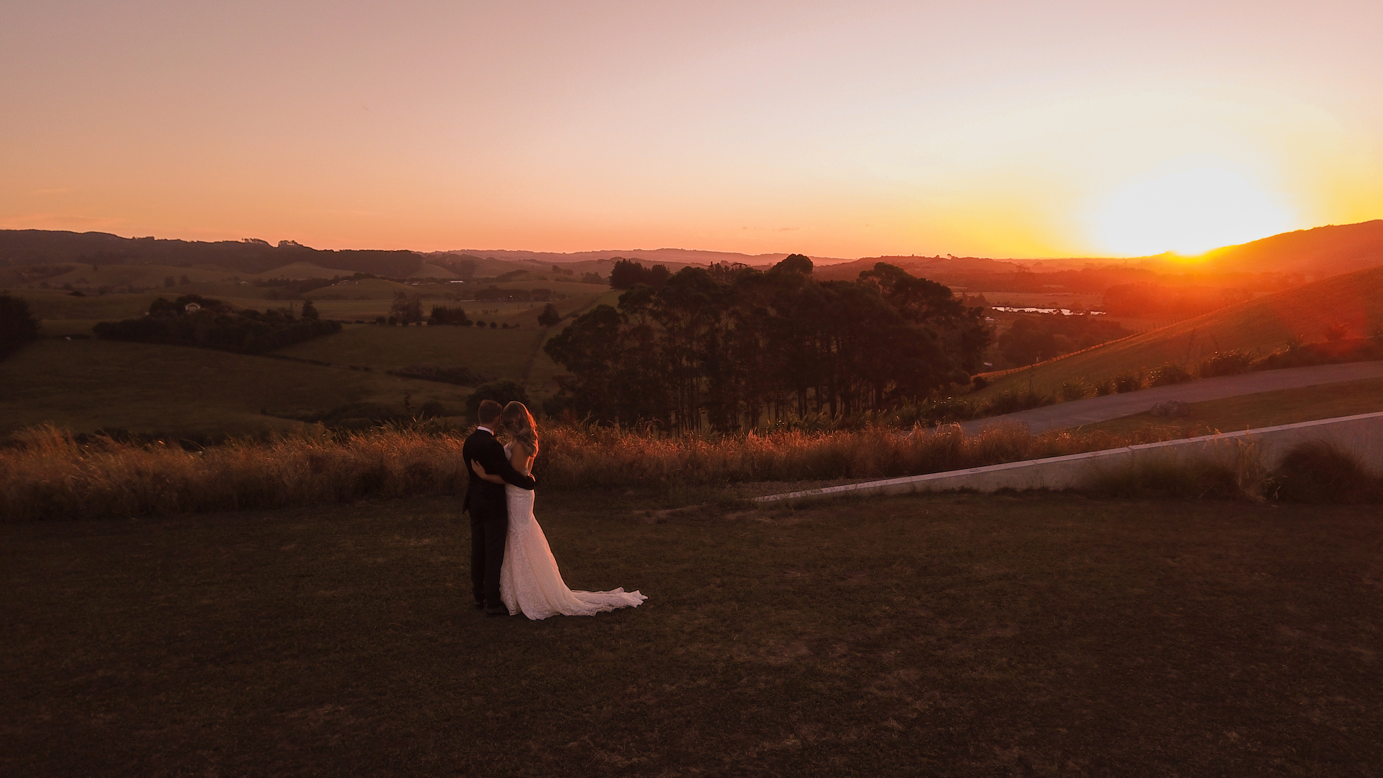 Jenna & Andre - Kauri Bay Boomrock - Auckland