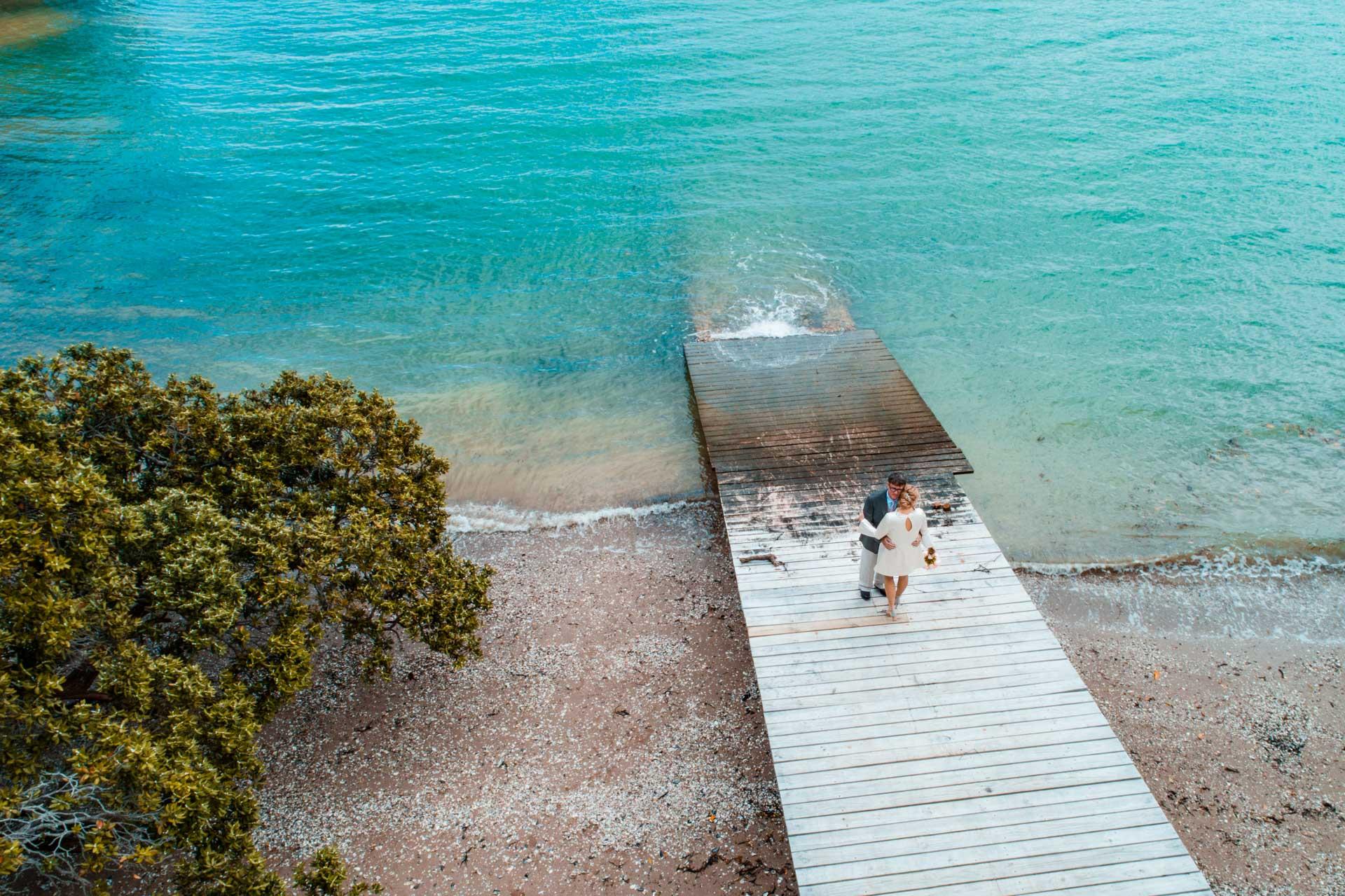 Amie & Dave - Delamore Lodge - Waiheke Island