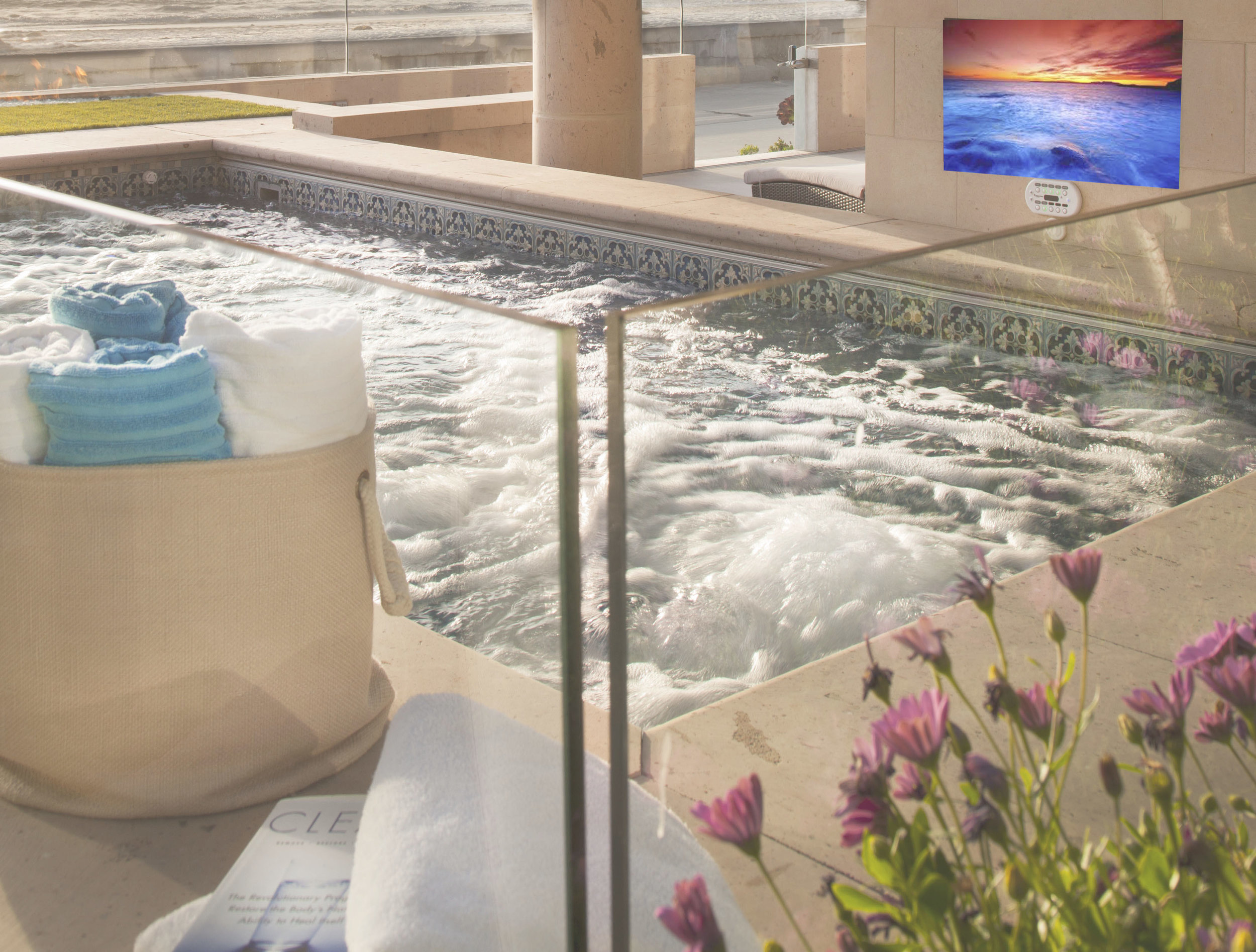 Creature Comforts - Take charge of your environment. Whether setting a thermostat or the temperature of your spa. Many residential sub-systems can play nice together, making it easier to manage your domain.