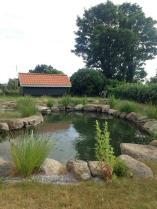 Bo Bendixen's fish pond