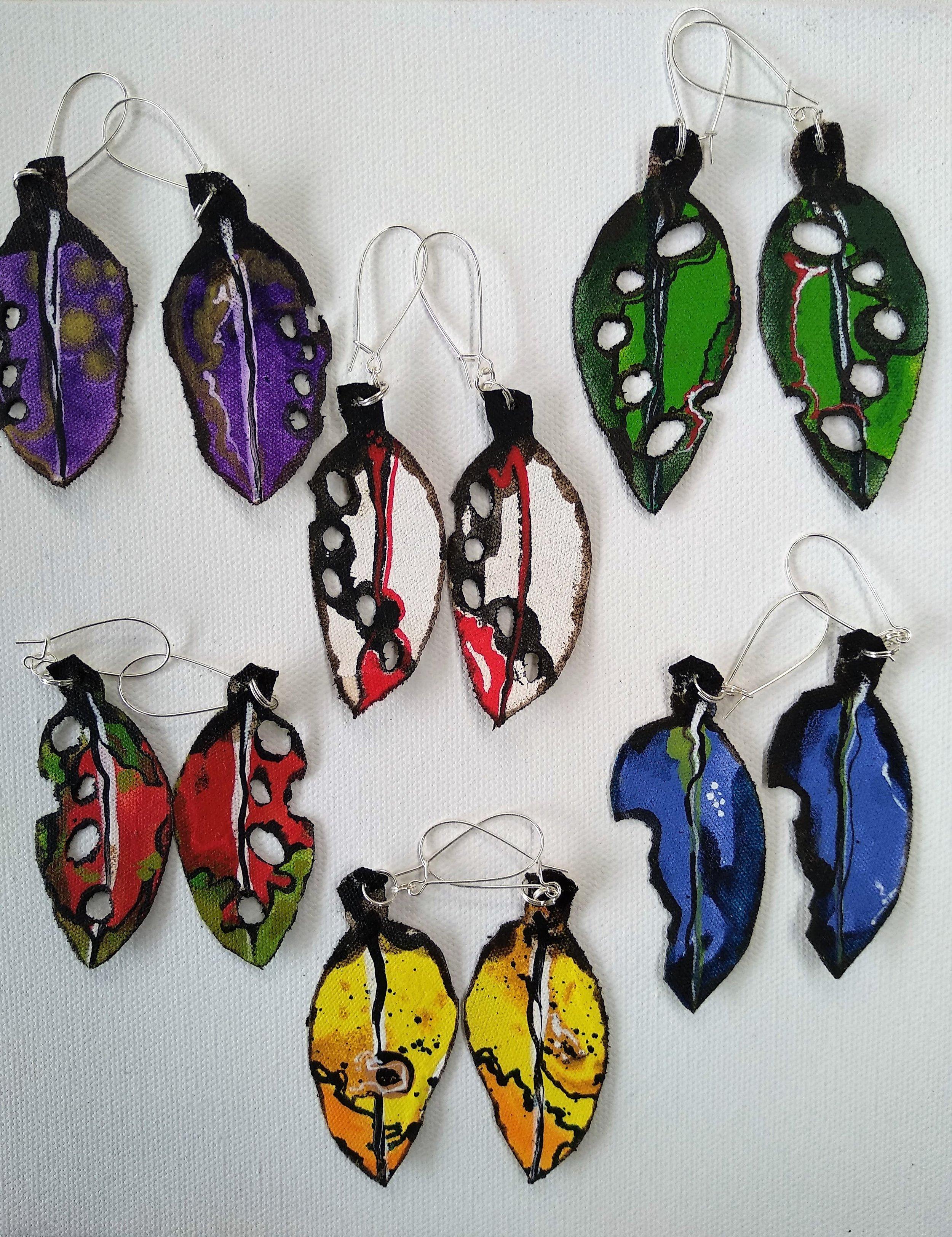 Pohutukawa Earrings -