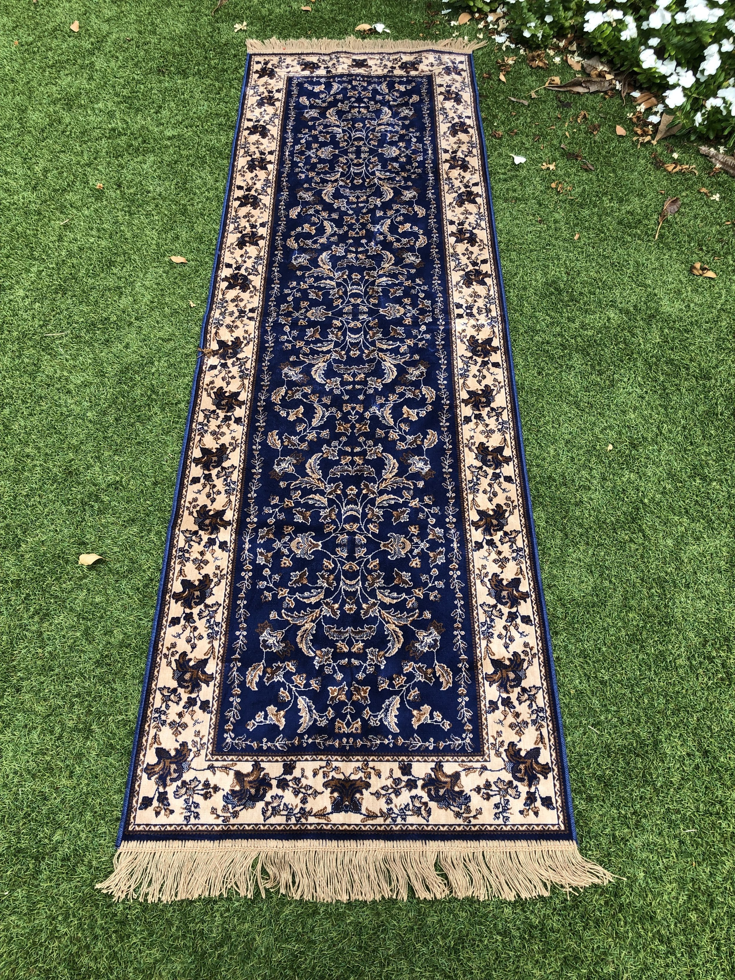 Rug: $30 - Use for a aisle runner or in front of your arbour2.4 metres long 75cm wide