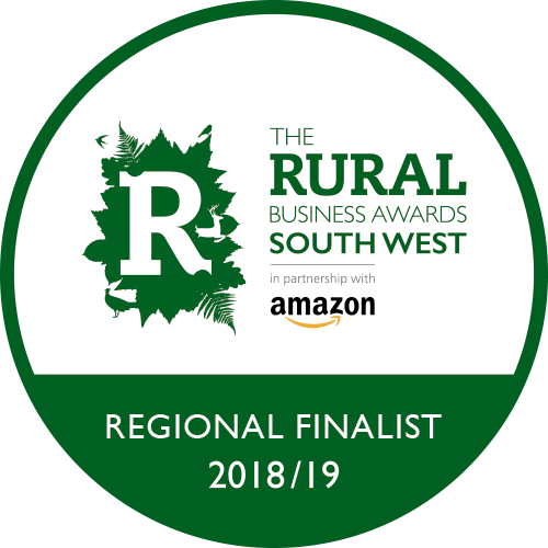 Regional finalist for the Rural Business Awards South West 2018