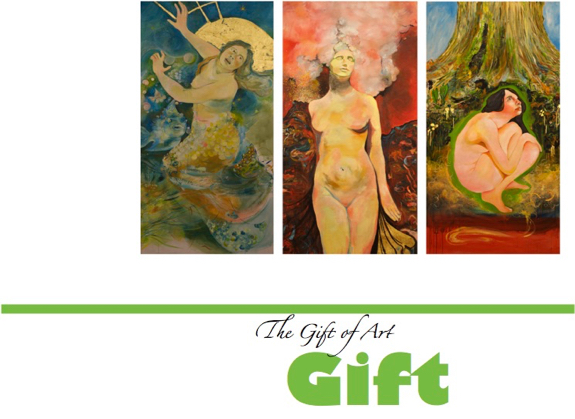 THE GIFT THAT REMAINS - art is forever, it is an experience. an opportunityto gain new perspective.