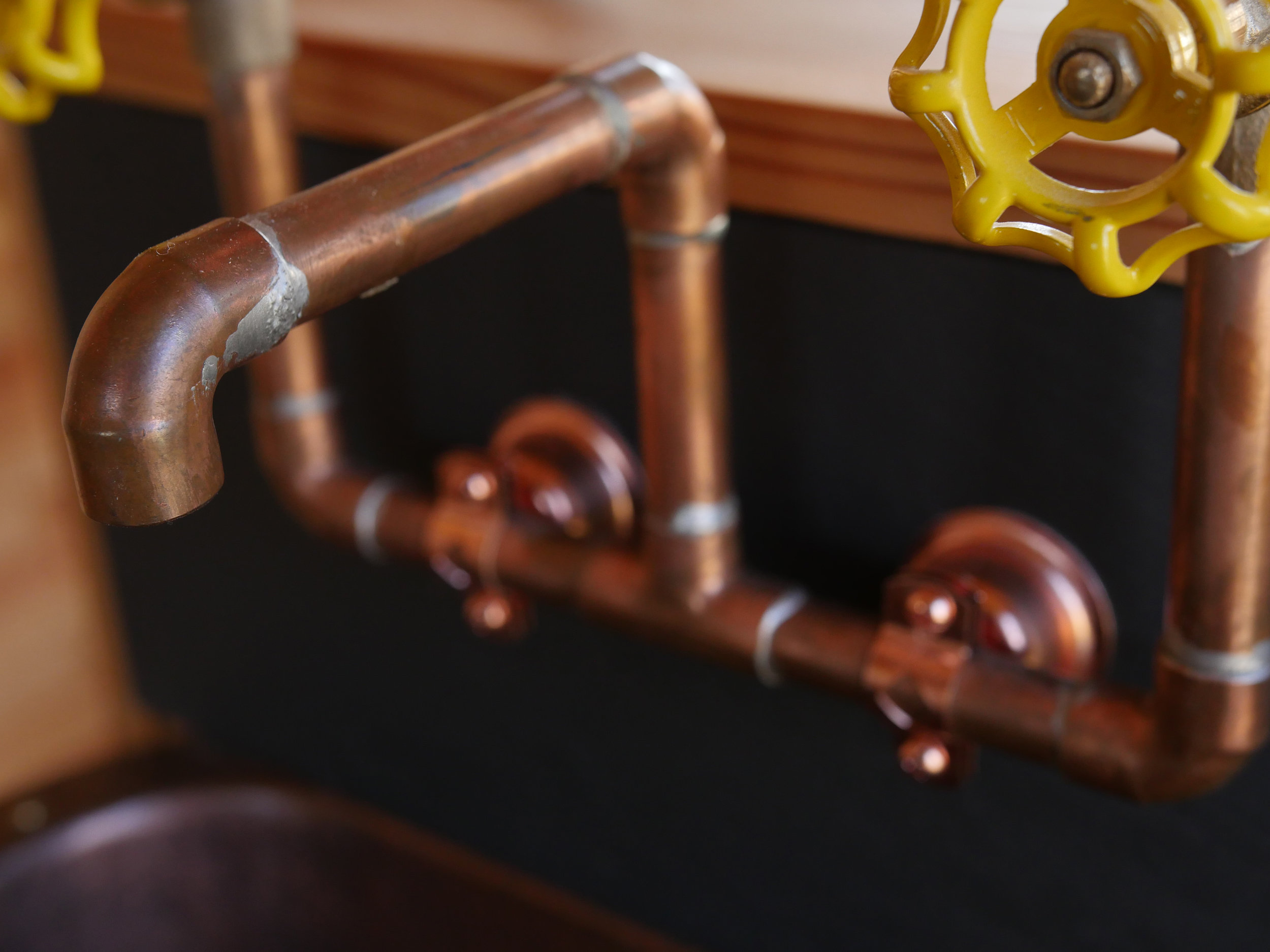 Honey On The Rock - Copper Faucets