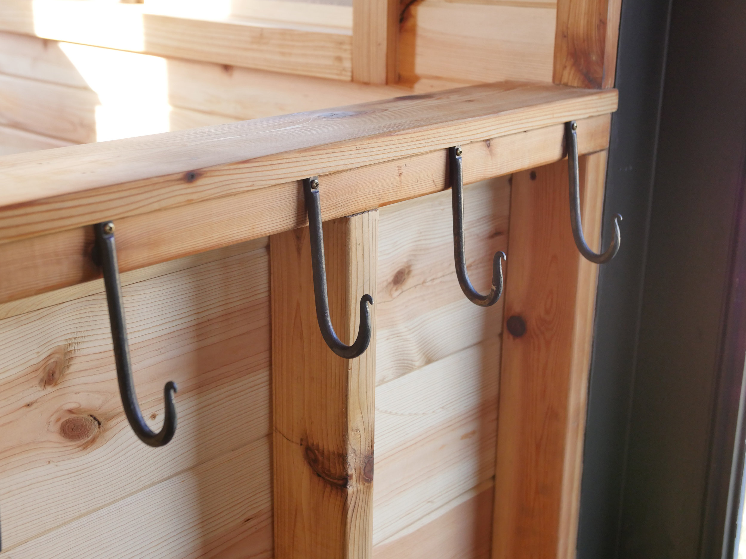 Honey On The Rock - Coat Hooks - Brown County Forge