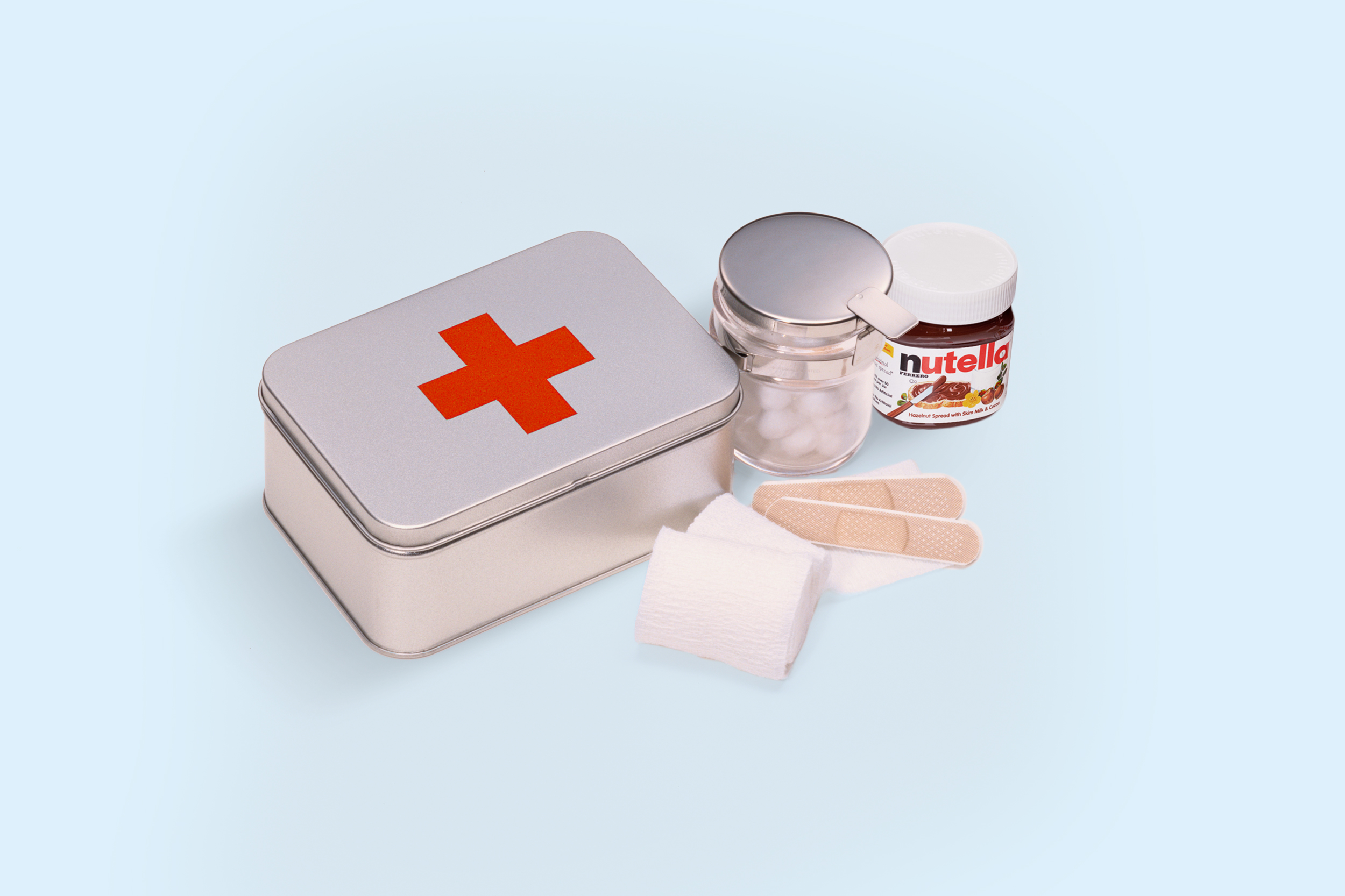 Emotional first aid kit - Contains Nutella
