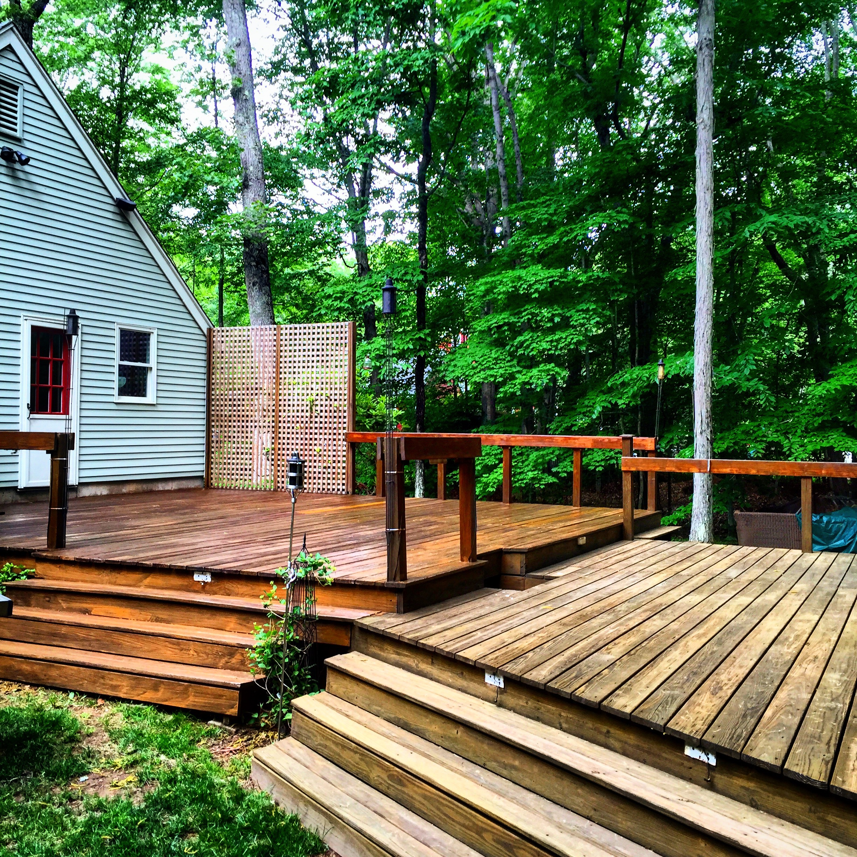 Deck Savers : Powerwash, stain, and deal decks in Connecticut