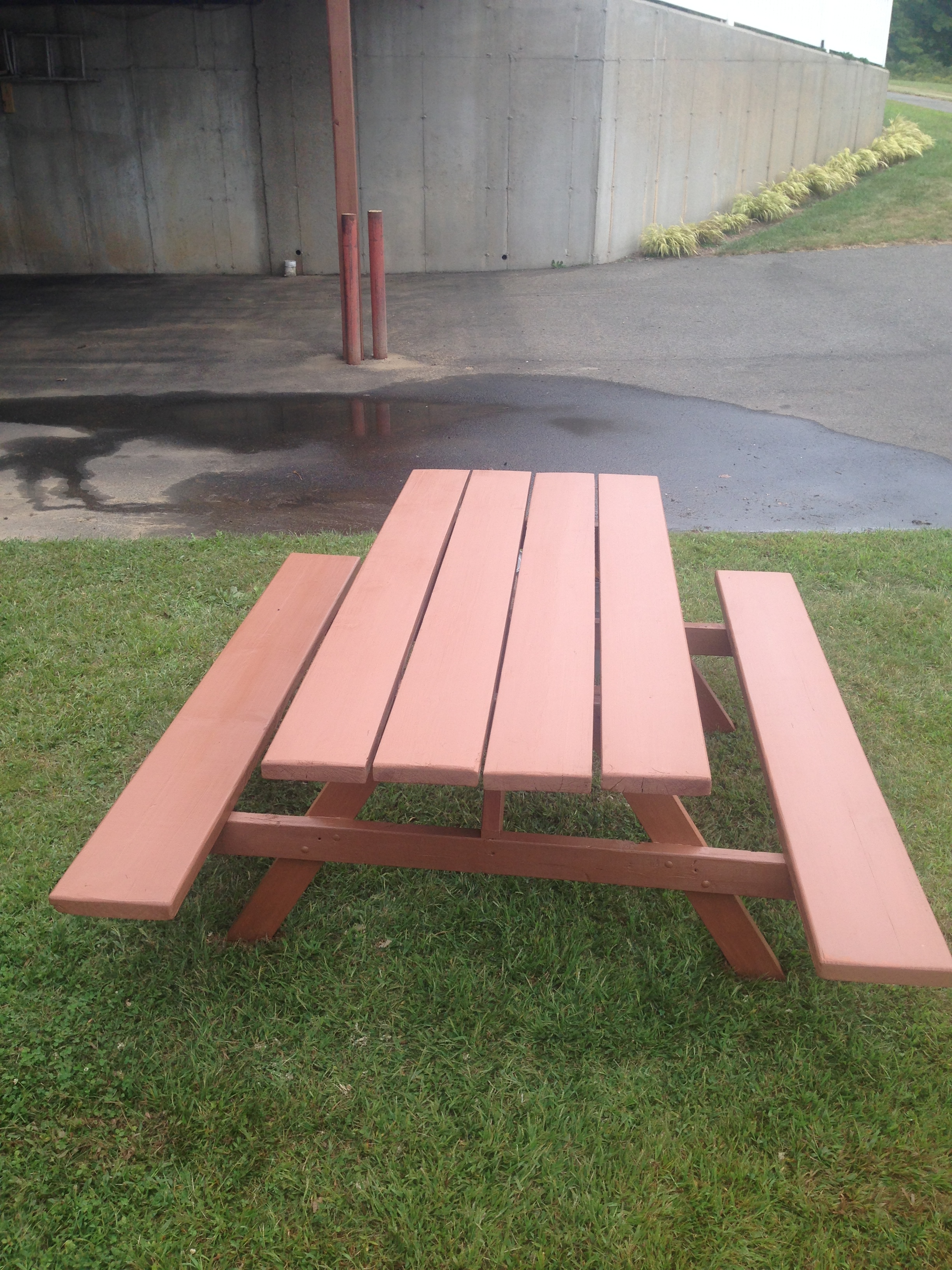 Finished Picnic Table