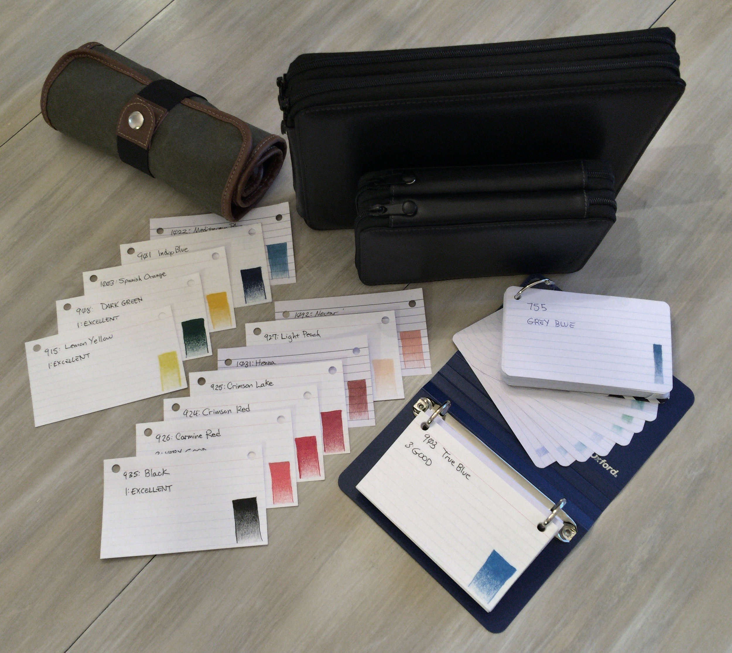 Color Swatch Cards & Books
