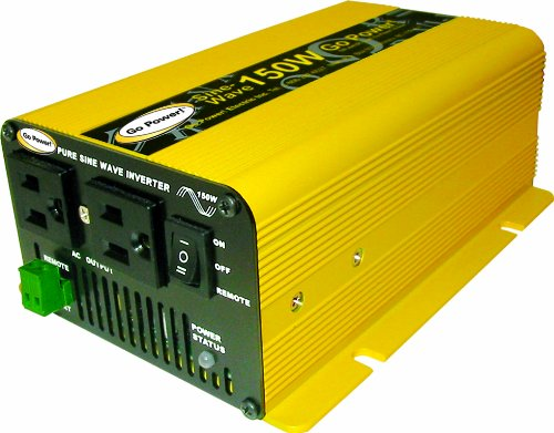 Pure Sine Wave Inverters, such as the Go Power! 150W, do exist