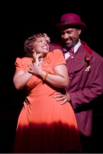 Angela Grovey and Ken Robinson in AIN'T MISBEHAVIN'