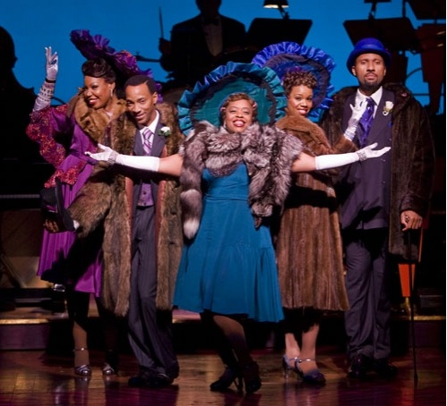 The cast of AIN'T MISBEHAVIN'