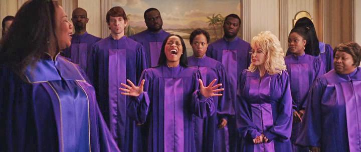 The cast of JOYFUL NOISE
