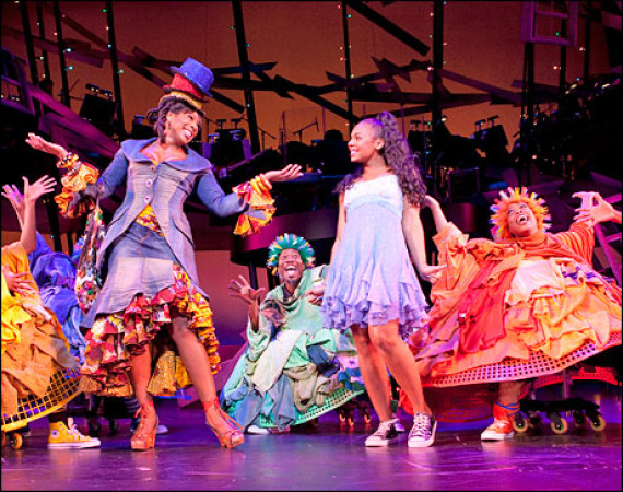 The cast of THE WIZ