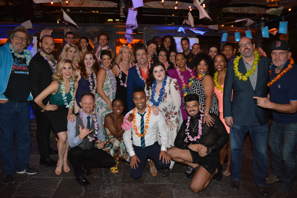 The cast and creative team of ESCAPE TO MARGARITAVILLE
