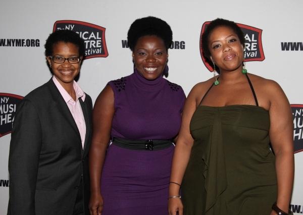Dionne McClain-Freeney, Zonya Love Johnson & Angela Grovey in THIS ONE GIRL'S STORY