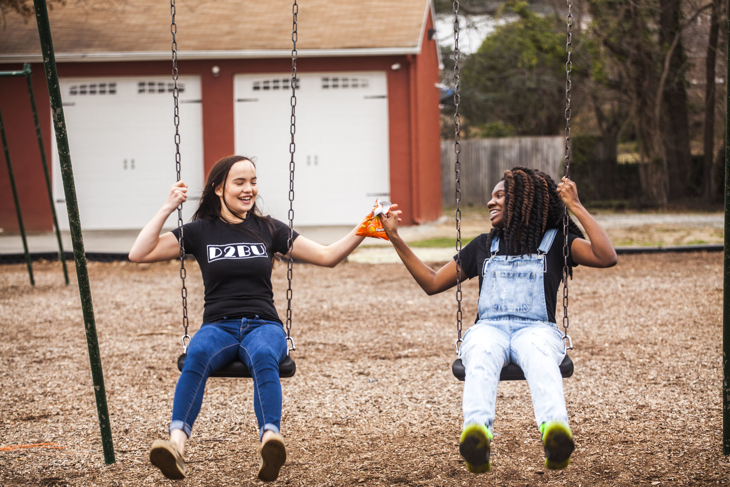 Dare to Share - Swinging together and creating those moments