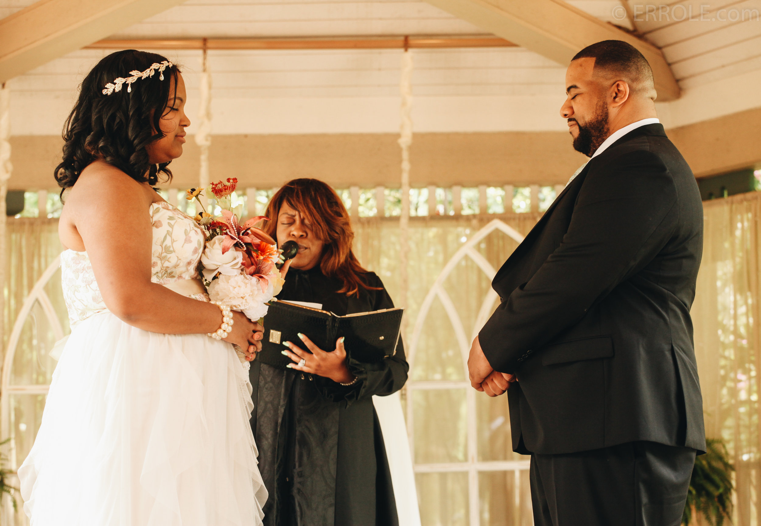 Amber and Malcom wedding