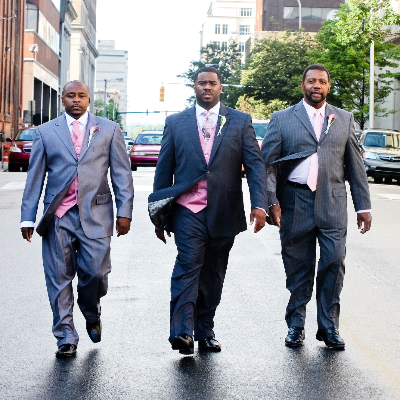 Grooms+Men+Walk