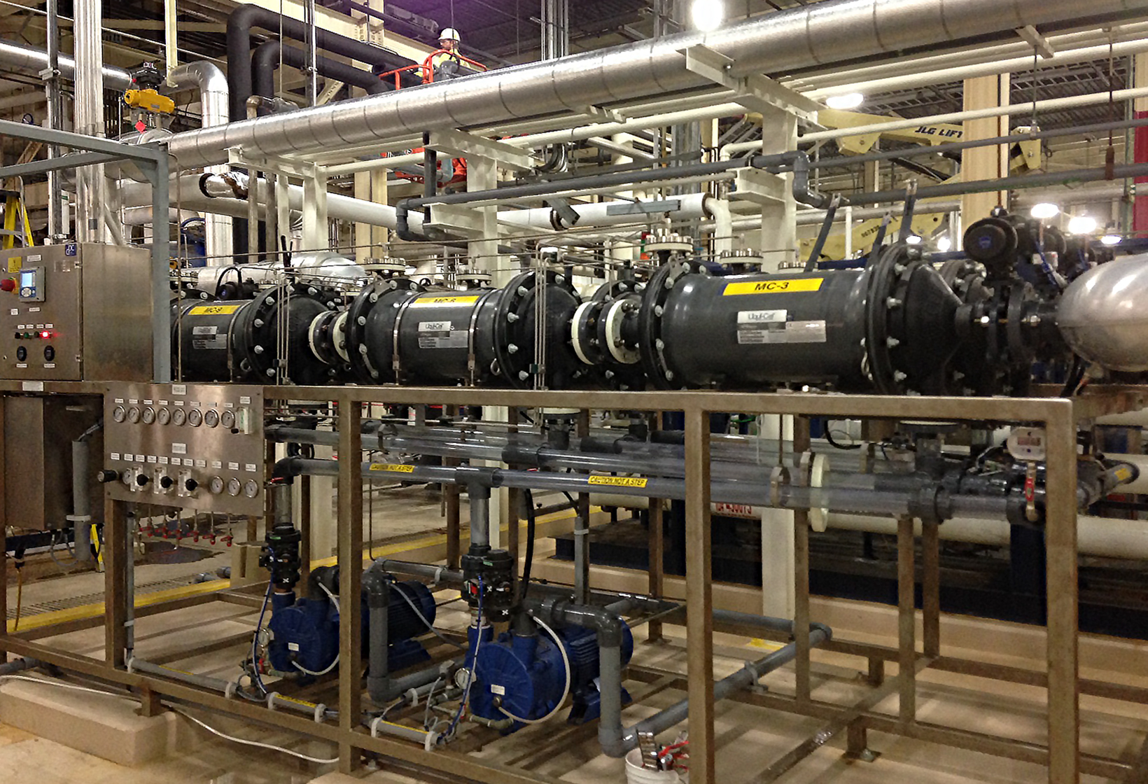 DO Removal for Boiler Feed Water -