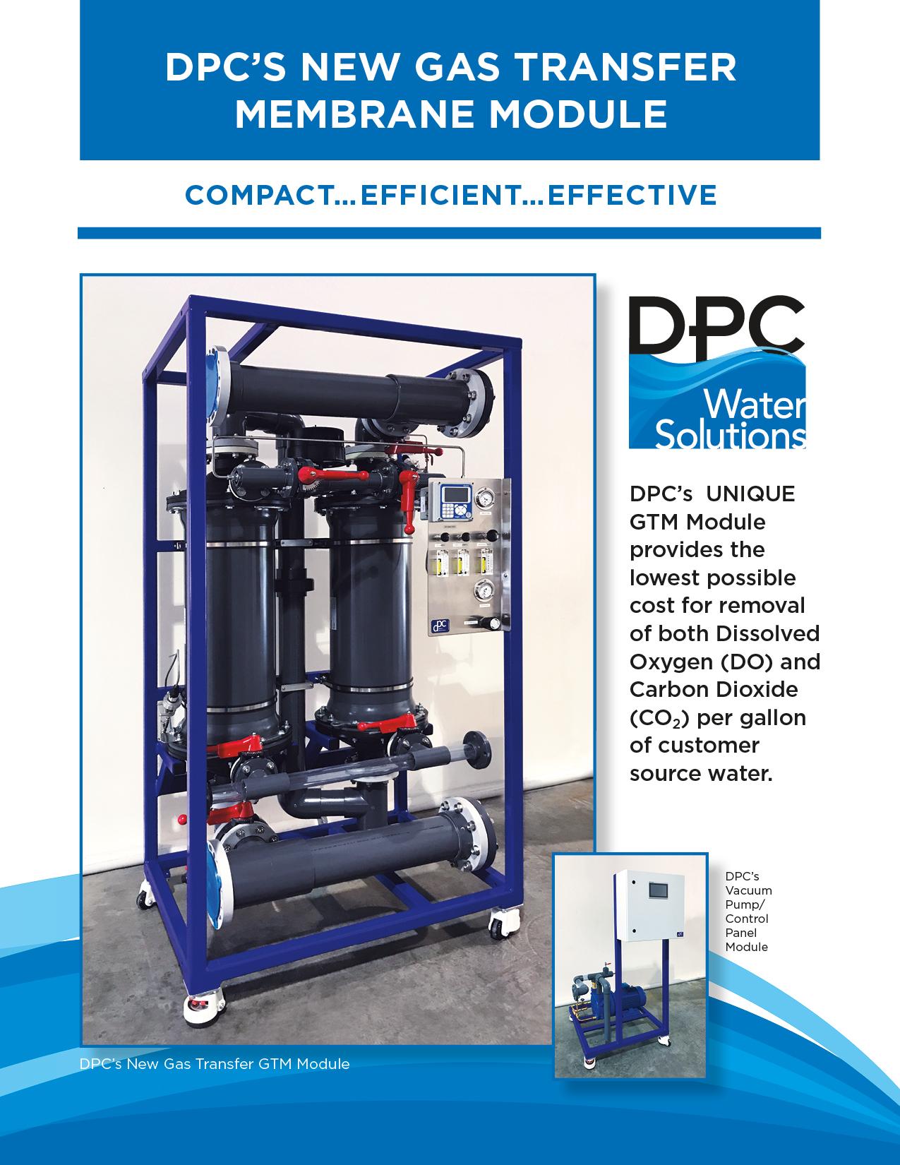 DPC's New Gas Transfer GTM Module -