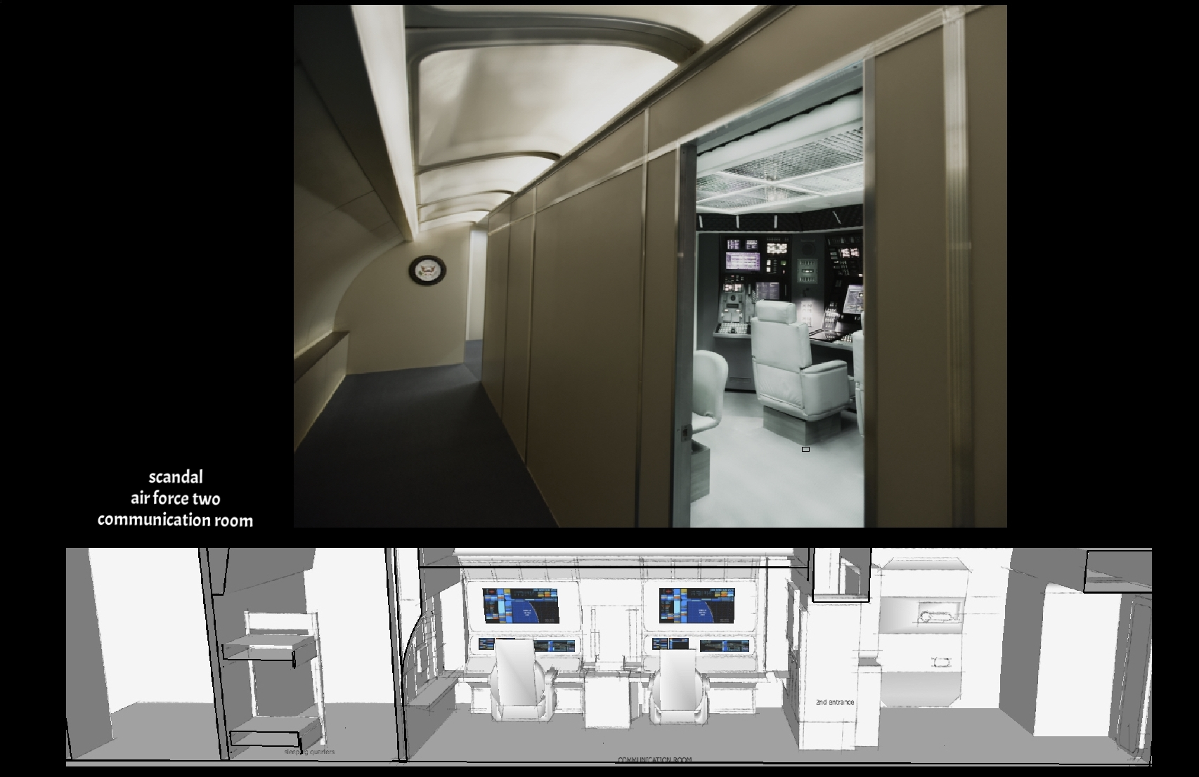 air force two     communication room