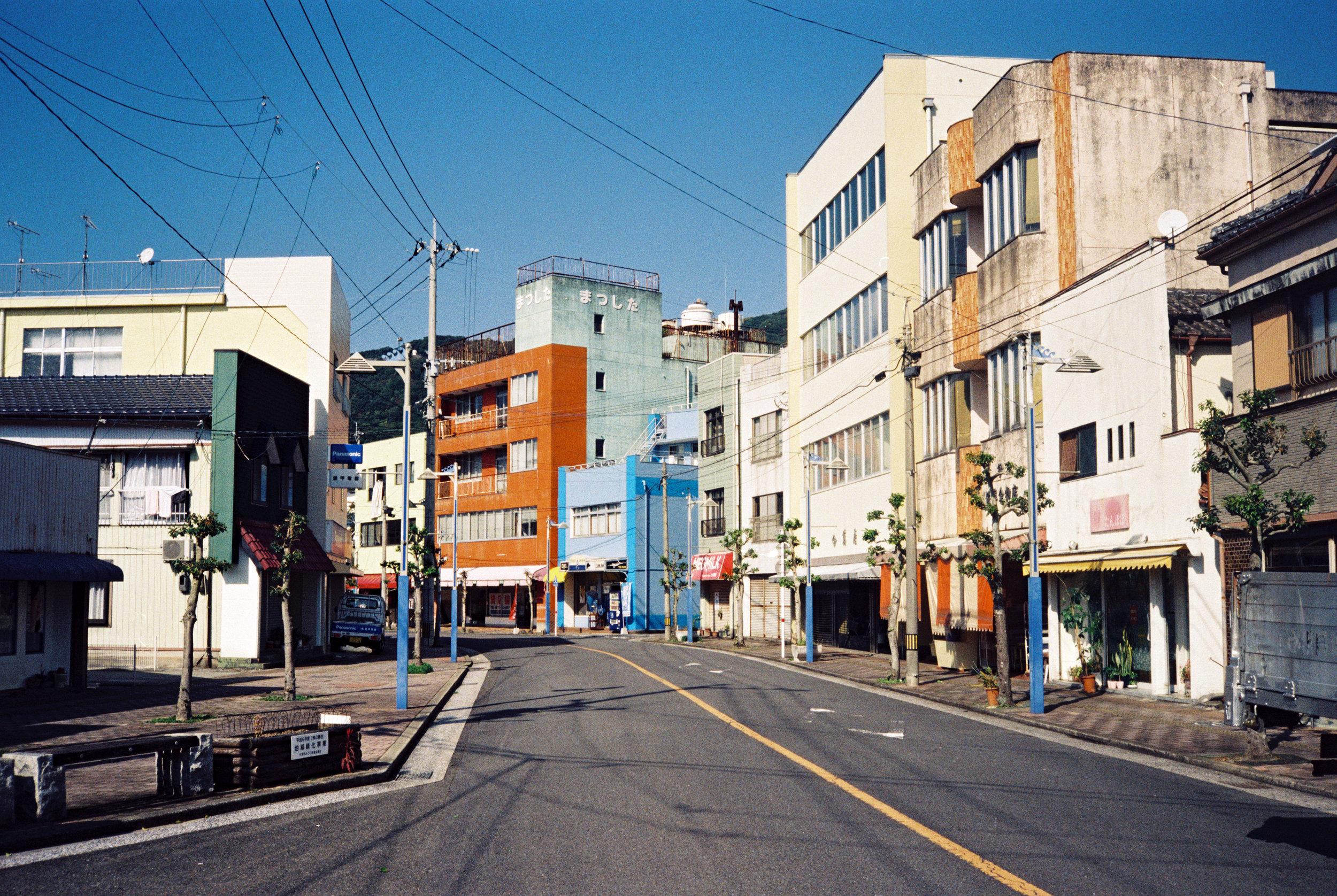 Ushibuka Bus Stop | 牛深バス停
