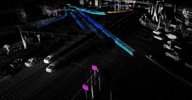 Blue shift Doppler #lidar #autonomousdriving #ces2019vegas