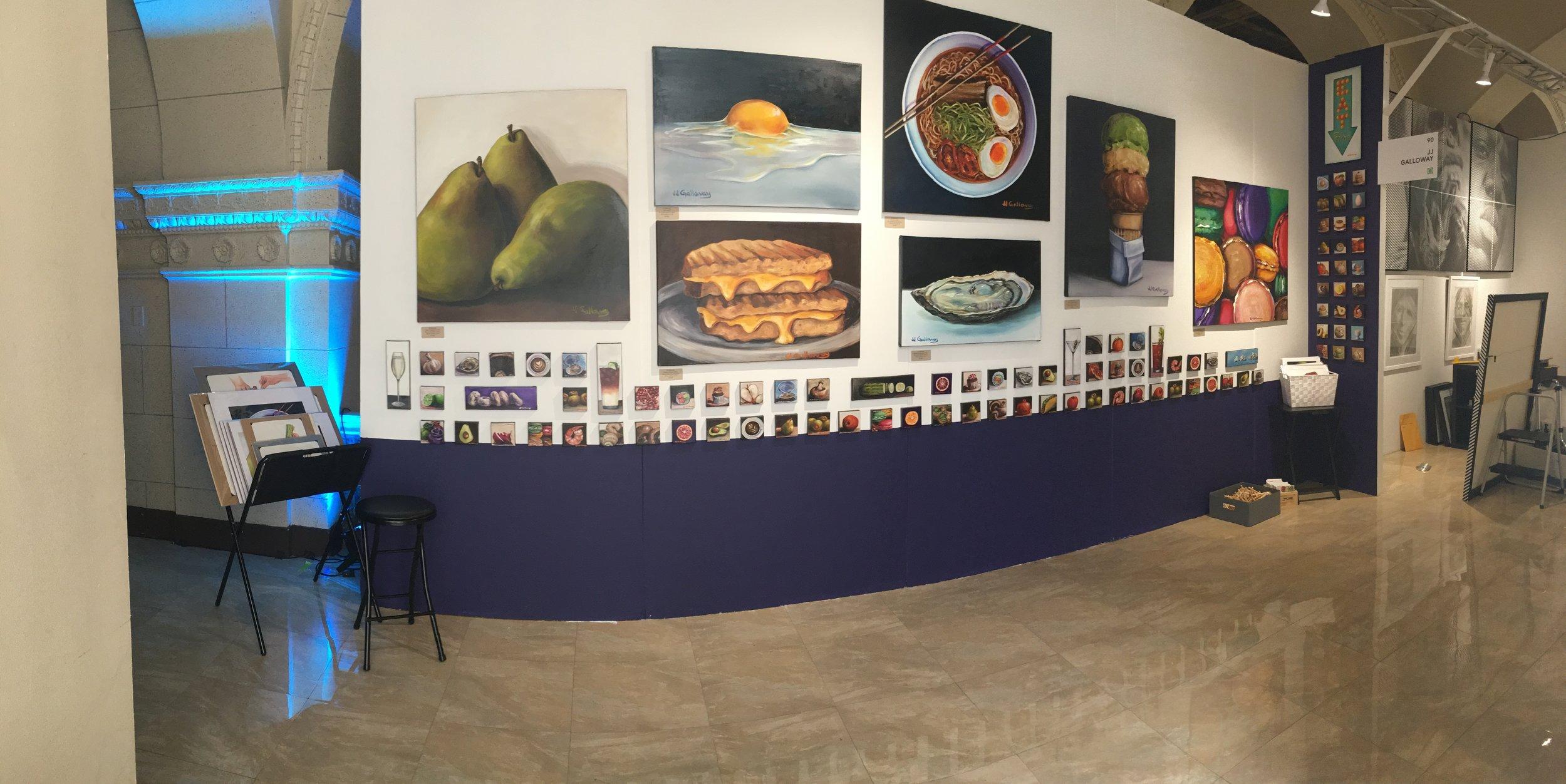 JJ Galloway - The Other Art Fair - LA